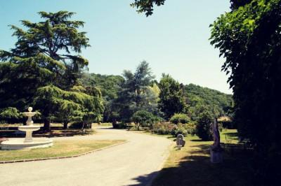 parc devant la maison copy